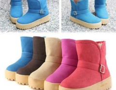 New Fashion Women Winter Short Warm Snow Cold Weather Boots Shoes Cndirect online fashion store China