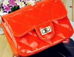 New Fashion Women's Candy Color Synthetic Leather Handbag Shoulder Bag?Dinner Party Cndirect online fashion store China
