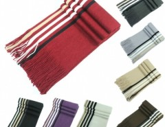 New Men Knit Scarf Stole Shawl Wrap Striped Fringed Long Soft Warm Winter Cndirect online fashion store China