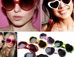 New Summer Vintage Retro Fashion Lolita Love Heart Shaped Women Girl Sunglasses Eye Glasses Cndirect online fashion store China
