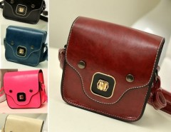 New Vintage Cute Women's Synthetic Leather Handbag Shoulder Bag Dinner Party Cndirect online fashion store China
