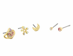 Nude Jewel Planet Moon And Star Earring Pack Choies.com online fashion store United Kingdom Europe