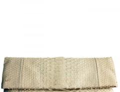 Nude Python Leather Clutch - Essentiel Carnet de Mode online fashion store Europe France