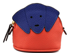 Orange Contrast Dog Purse Choies.com online fashion store United Kingdom Europe