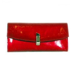 Patent leather mini clutch Carnet de Mode online fashion store Europe France