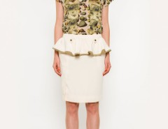 Pear Printed Silk Yew Top Carnet de Mode online fashion store Europe France