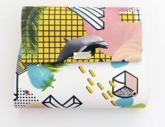 Printed Kuki Clutch Bag Carnet de Mode online fashion store Europe France