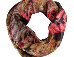 Printed Silk Scarf Fern Carnet de Mode online fashion store Europe France