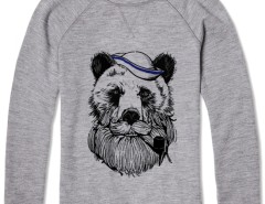 Printed Sweat Bear Sailor Carnet de Mode online fashion store Europe France