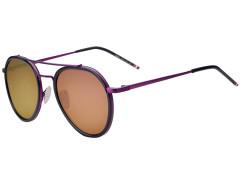 Purple Mirror Lens Aviator Sunglasses Choies.com online fashion store United Kingdom Europe
