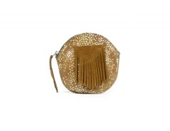 Purse - SATINKA - Cognac & Shagreen Carnet de Mode online fashion store Europe France