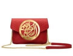 Red Python Clutch Carnet de Mode online fashion store Europe France