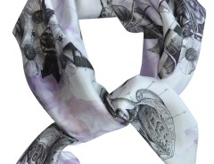 SCARF - BIRTH - PURPLE Carnet de Mode online fashion store Europe France
