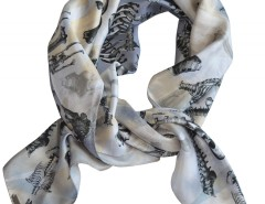 SCARF - BONES - CREAM Carnet de Mode online fashion store Europe France