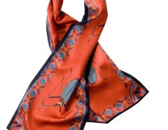 Shawl - Vermin - red Carnet de Mode online fashion store Europe France