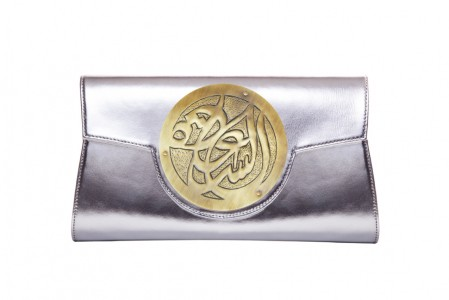 Silver Clutch Leather Carnet de Mode online fashion store Europe France