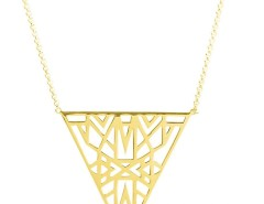 Silver Plated Gold Necklace - Lunea Carnet de Mode online fashion store Europe France