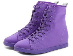 Supra Purple Lace Up Sneakers Choies.com online fashion store United Kingdom Europe