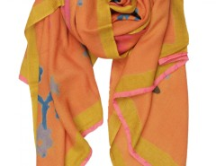 Tashkent Flower Printed Cashmere Pashmina Carnet de Mode online fashion store Europe France
