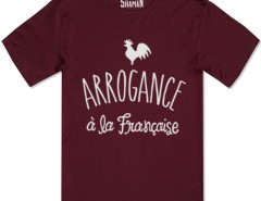 Tee shirt Arrogance à la française Carnet de Mode online fashion store Europe France