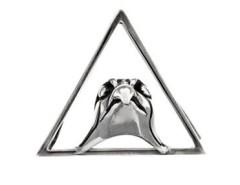 The Falcon Silver Clip Carnet de Mode online fashion store Europe France
