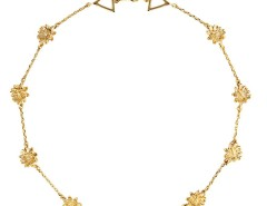 The Golden Lotus Necklace Carnet de Mode online fashion store Europe France