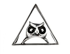 The Silver Owl Clip Carnet de Mode online fashion store Europe France