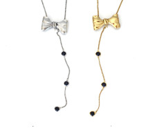 Tuxedo Convertible Necklace MrKate.com online fashion store USA