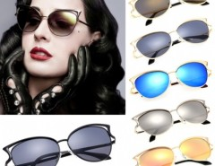 Vintage Style Men Women Sunglasses Eyewear Polarized Lens Metal Frame Sunglasses Cndirect online fashion store China