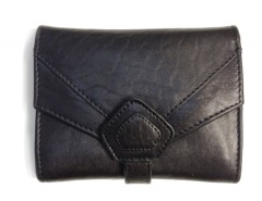 WALLET - CREAMY - BLACK Carnet de Mode online fashion store Europe France