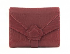 WALLET - CREAMY - Red Bubble Leather Carnet de Mode online fashion store Europe France