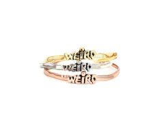 WEIRD Cuff Bracelet. Various Colors. MrKate.com online fashion store USA
