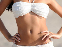 White Halter Ruched Bikini Top And Ruffle Bottom Choies.com online fashion store United Kingdom Europe