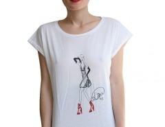 White Tee LauraGalasso - Dalia Carnet de Mode online fashion store Europe France