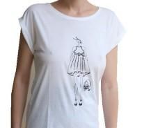 White Tee LauraGalasso - Lorena Carnet de Mode online fashion store Europe France