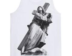 White printed docker Godard - The Way Of Cross Carnet de Mode online fashion store Europe France