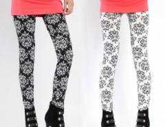 Women Elastic Printing Pencil Pants Stretch Skinny Leggings Cndirect online fashion store China