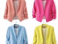 Women Suite Outerwear 3/4 sleeve Coat Mini Blazer Cndirect online fashion store China