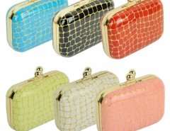 Women Synthetic Leather Chain Bag Handbags Evening Bag Clutch 6Colors Cndirect online fashion store China