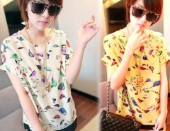Women T-shirt Batwing Loose Blouse Casual Tee Tops Cndirect online fashion store China