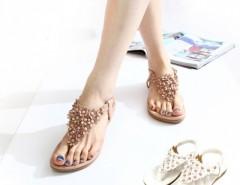 Women T-strap Flip-flop Shoes Flats Sandals Cndirect online fashion store China