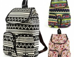 Women Vintage Casual Canvas Sports School Bag Backpack Cndirect online fashion store China