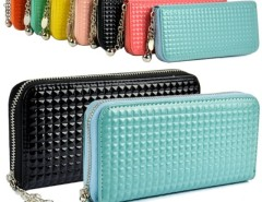 Women Zip Colorful Clutch Case Lady Long Handbag Wallet Purse Cndirect online fashion store China
