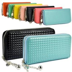 Women Zip Colorful Clutch Case Lady Long Handbag Wallet Purse Cndirect online fashion store China