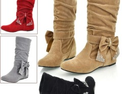 Women's Boots Bow Decoration Shoes Cndirect online fashion store China