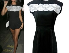 Women's Celeb Style Lace Black Evening Playsuit Romper Jumpsuit Cndirect online fashion store China