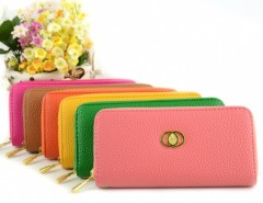 Women's Embossed Synthetic Leather Purse Wallet Card Bag Cndirect online fashion store China