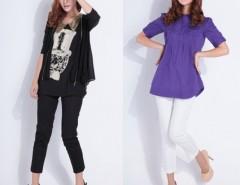 Women's Harem Pants Slim Ninth Trousers FINEJO Cndirect online fashion store China