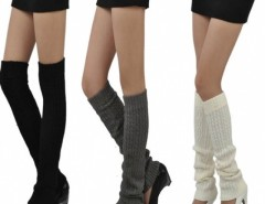 Women's Knit Crochet Winter Leg Warmer Leggings Socks Cndirect online fashion store China
