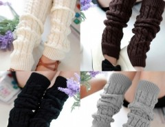 Women's Knit Crochet Winter Leg Warmer Socks Cndirect online fashion store China